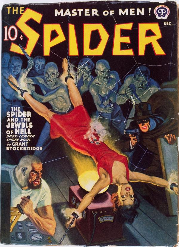 The Spider - December 1940