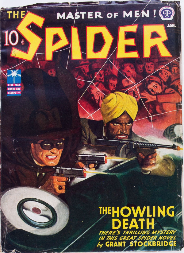 The Spider - January 1943