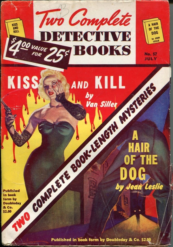 Two Complete Detective Books July 1949