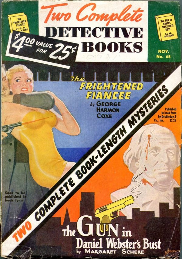 Two Complete Detective Books Nov 1950