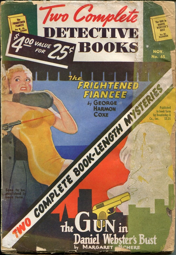 Two Complete Detective Books November 1950