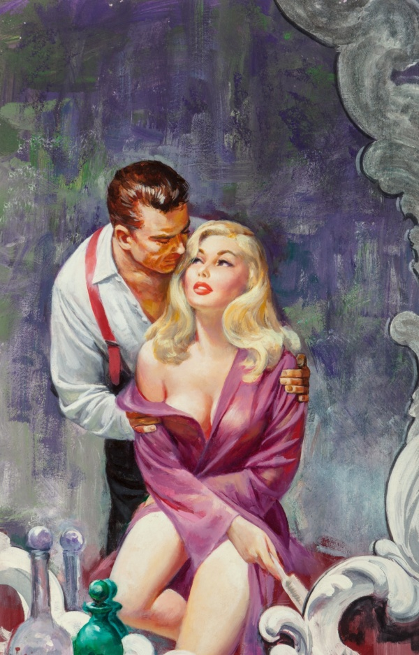 Wild Body, paperback cover, 1961
