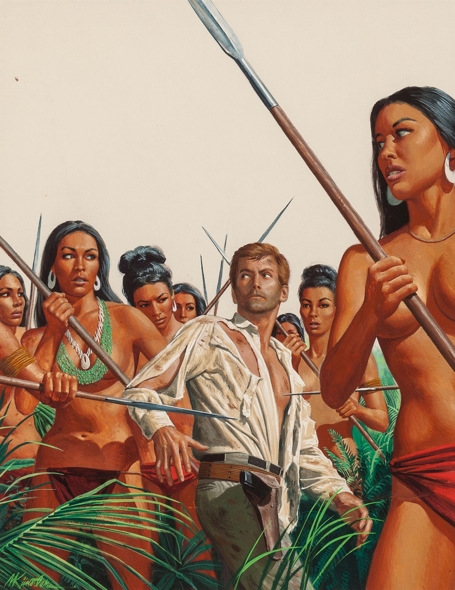 Topless warrior woman xxx tube