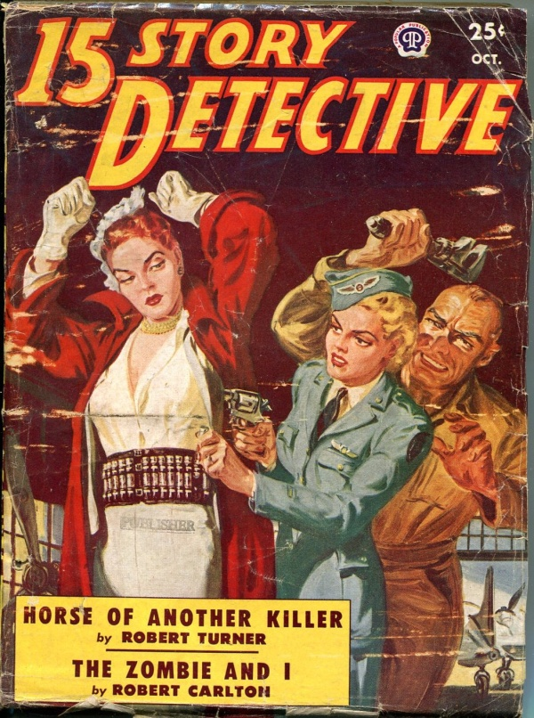 15 Story Detective October 1950