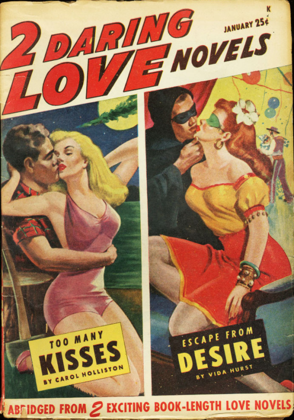2 Daring Love Novels, January 1948