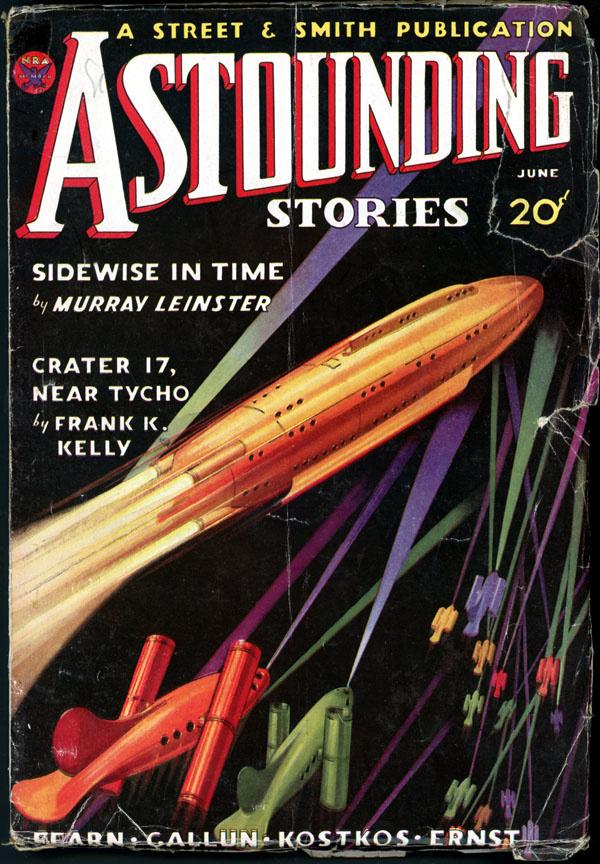 ASTOUNDING STORIES. June, 1934