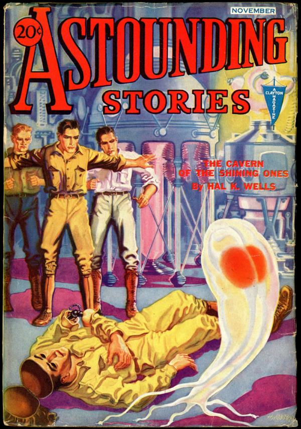 ASTOUNDING STORIES. November, 1932