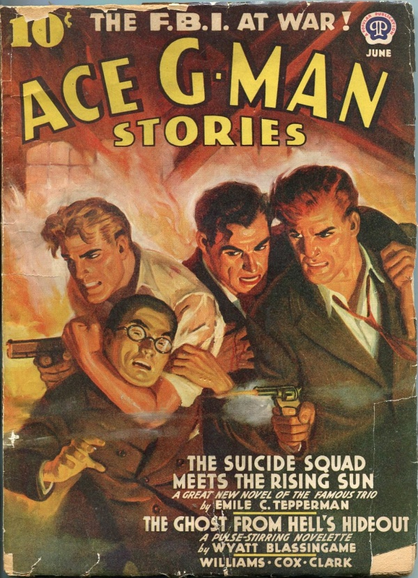 Ace G-Men Stories June 1942
