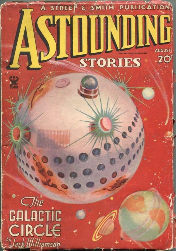Astounding Stories August 1935