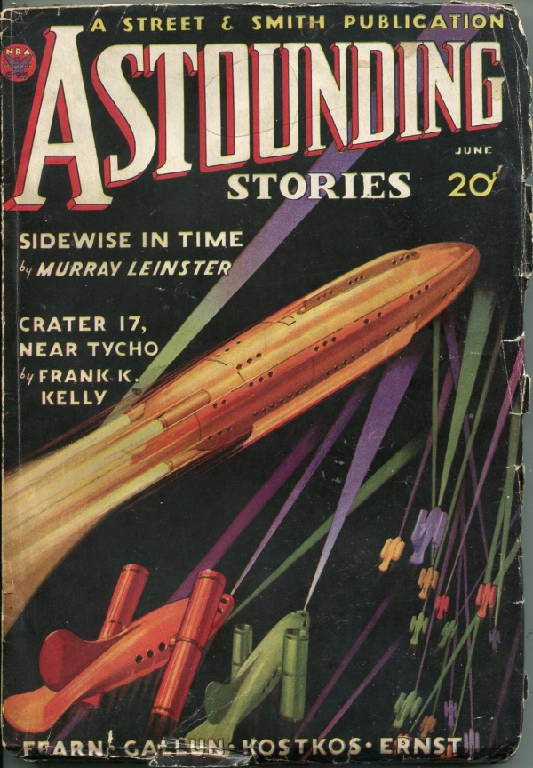 Astounding Stories June 1934