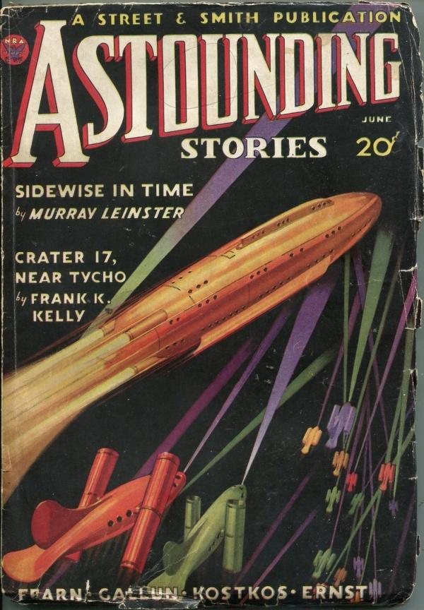 Astounding Stories June 1934