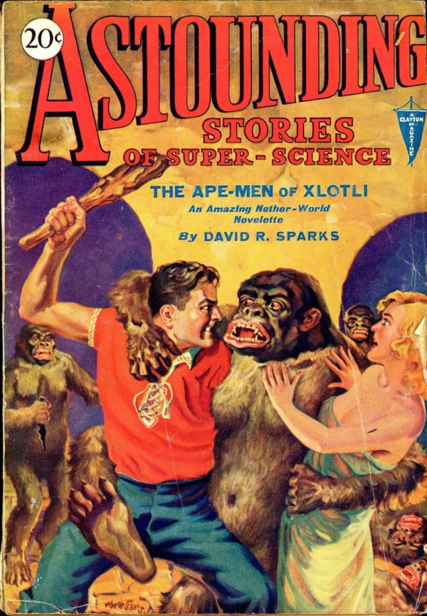 Astounding Stories of Super-Science, December 1930