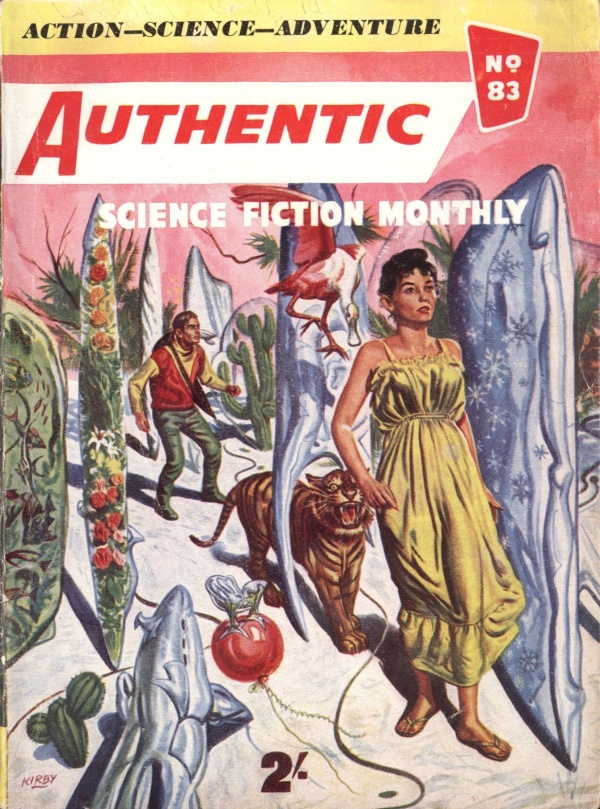 Authentic Science Fiction, August 1957