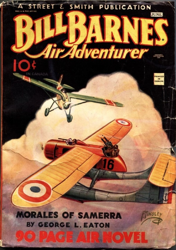 Bill Barnes Air Adventurer June 1935