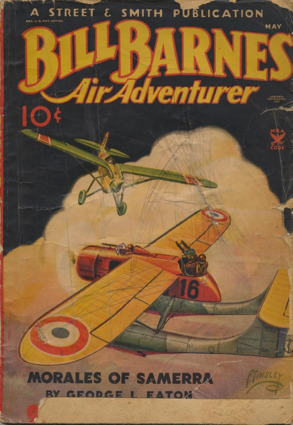 Bill Barnes Air Adventurer May 1935