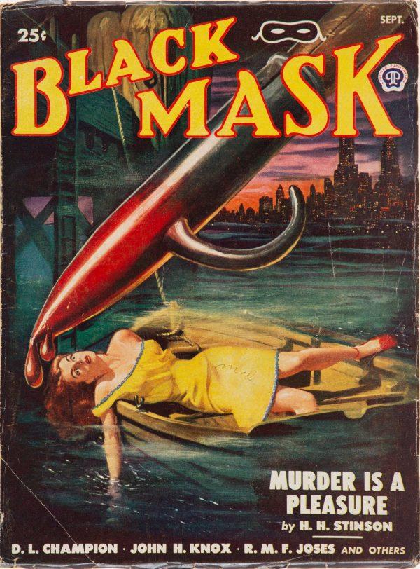 Black Mask Magazine - September 1948