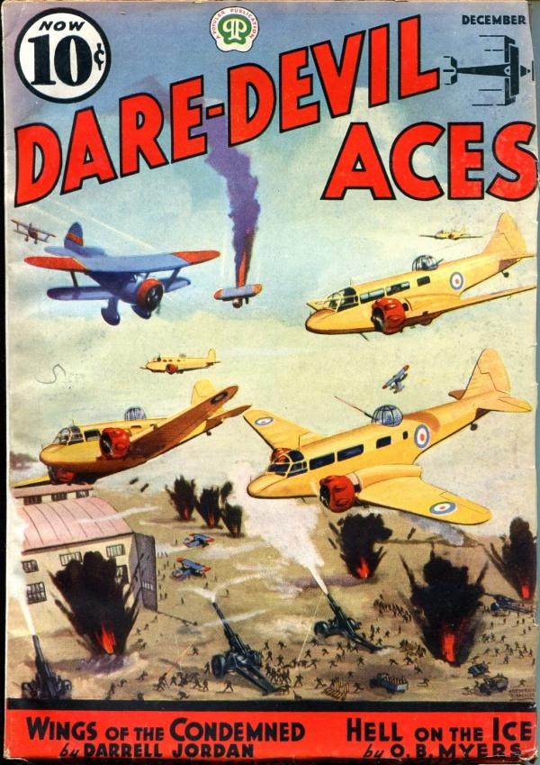 Dare-Devil Aces December 1937