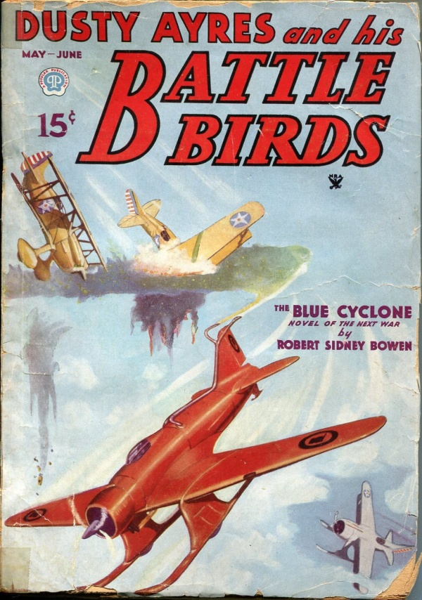 Dusty Ayres and His Battle Birds May 1935