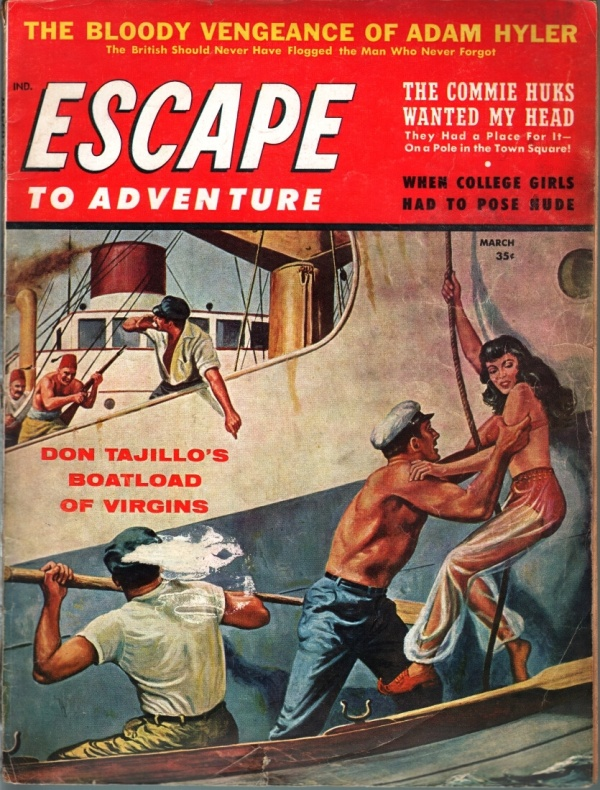 Escape To Adventure March 1960