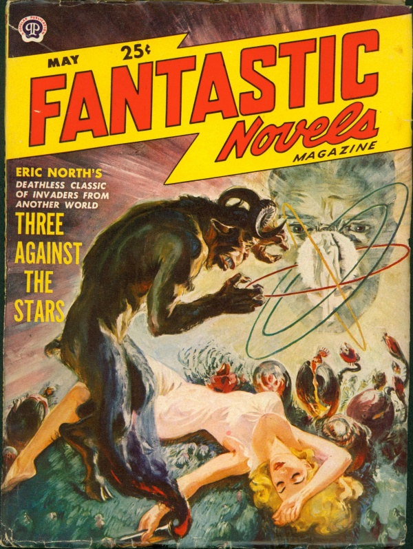 FANTASTIC NOVELS Magazine May 1950