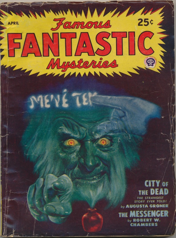 Famous Fantastic Mysteries, April 1948