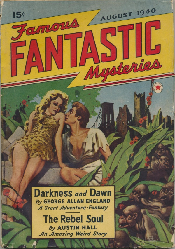 Famous Fantastic Mysteries, August 1940