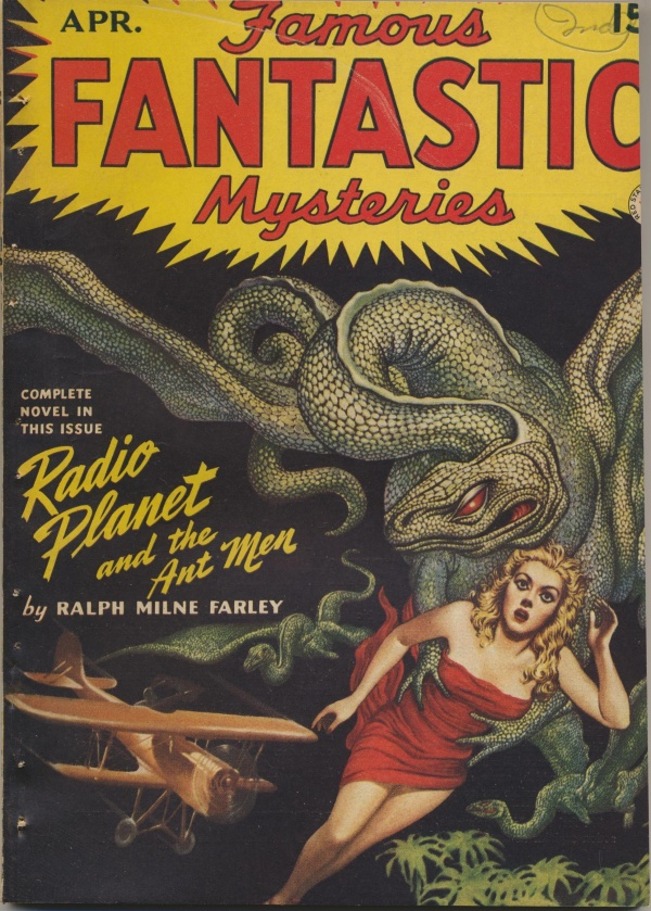 Famous Fantastic Mysteries Combined with Fantastic Novels Magazine, April 1942