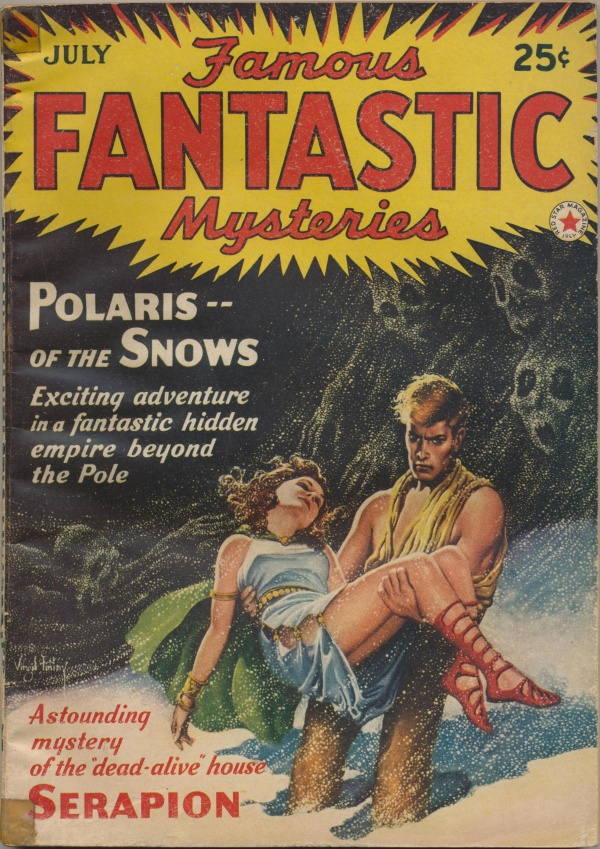 Famous Fantastic Mysteries Combined with Fantastic Novels Magazine, July 1942