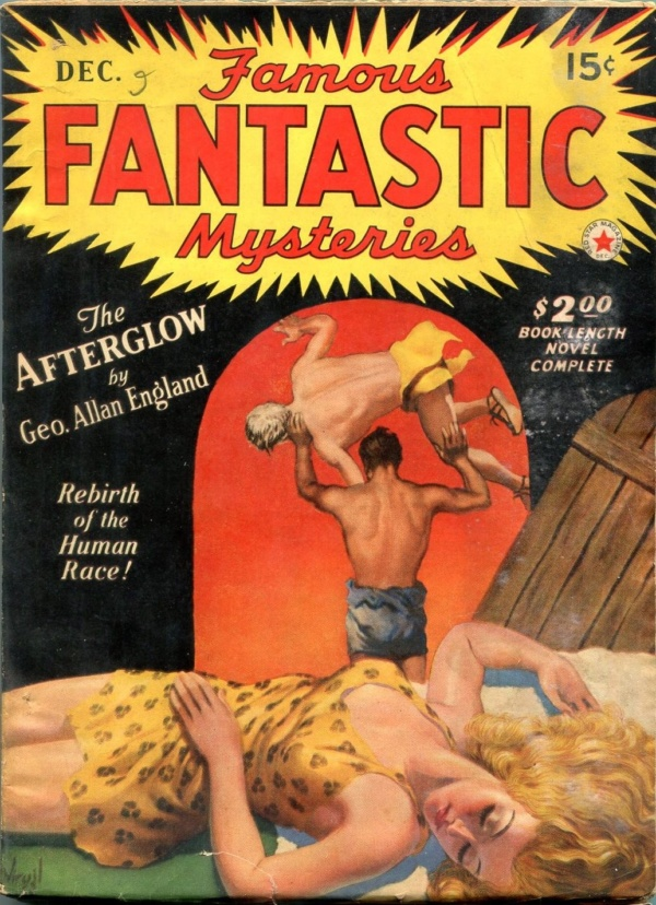 Famous Fantastic Mysteries December 1941