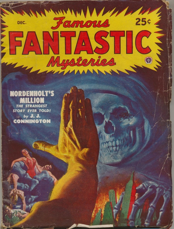 Famous Fantastic Mysteries, December 1948