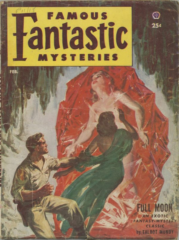 Famous Fantastic Mysteries Feb 1953