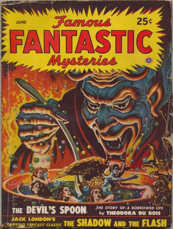 Famous Fantastic Mysteries, June 1948