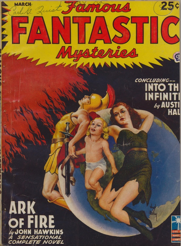 Famous Fantastic Mysteries, March 1943
