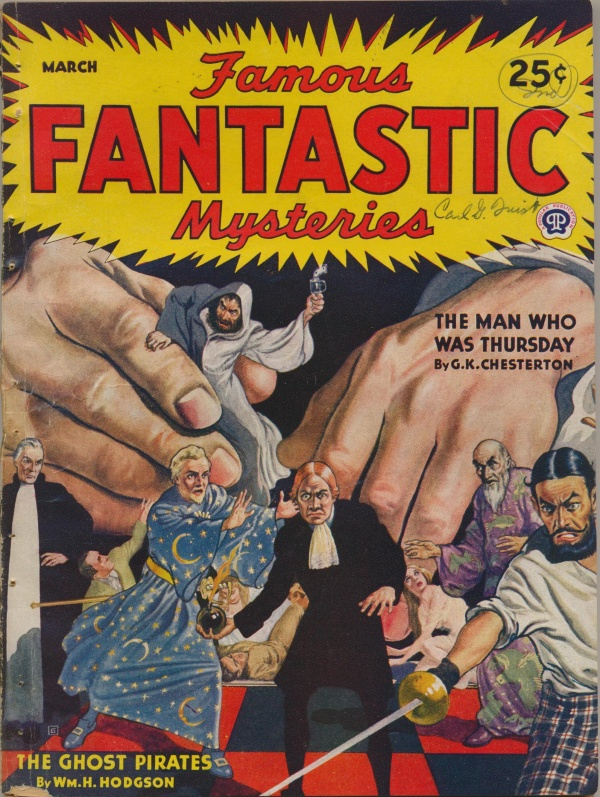 Famous Fantastic Mysteries, March 1944