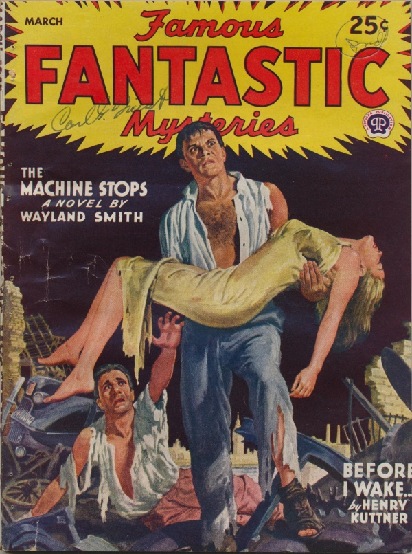 Famous Fantastic Mysteries, March 1945