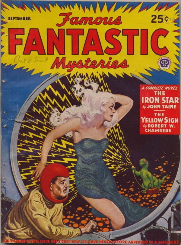 Famous Fantastic Mysteries, September 1943