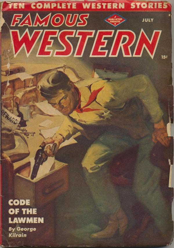 Famous Western July 1947