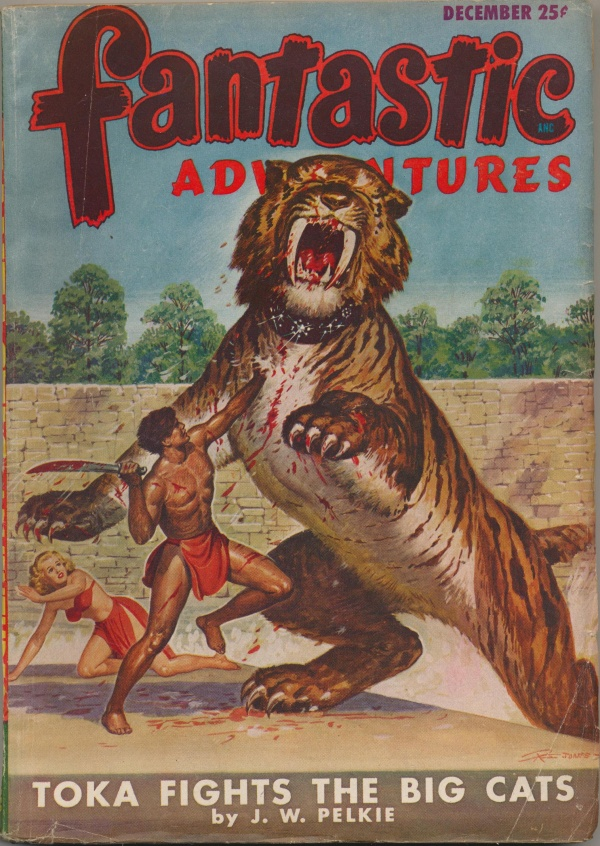 Fantastic Adventures, December 1947
