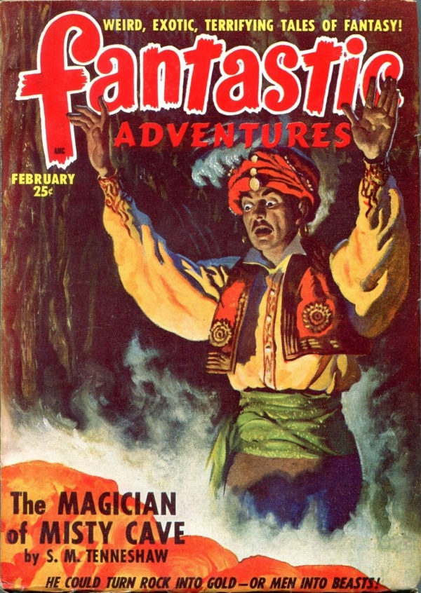 Fantastic Adventures February 1949