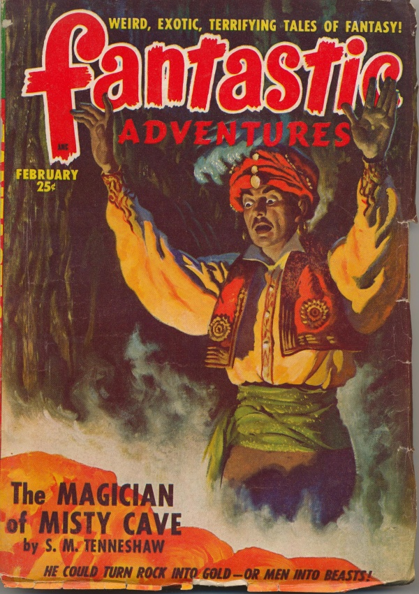Fantastic Adventures, February 1949
