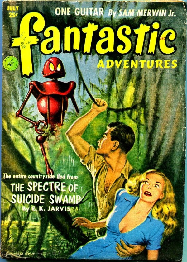 Fantastic Adventures July 1952