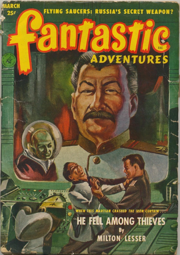 Fantastic Adventures, March 1952