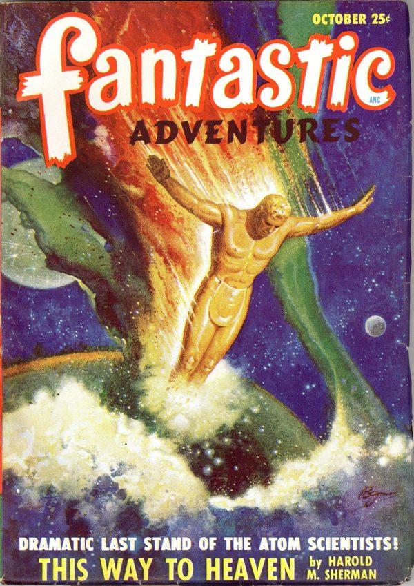 Fantastic Adventures October 1948