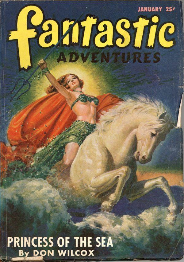 Fantastic Adventures Pulp January 1947