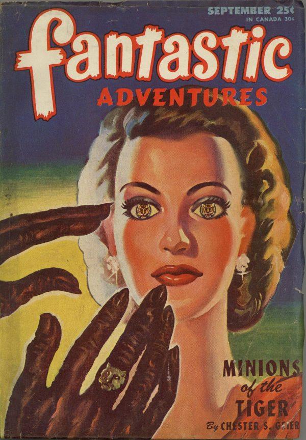 Fantastic Adventures, September 1946