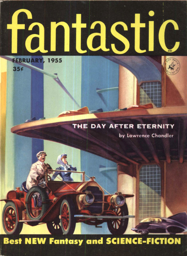 Fantastic, February 1955