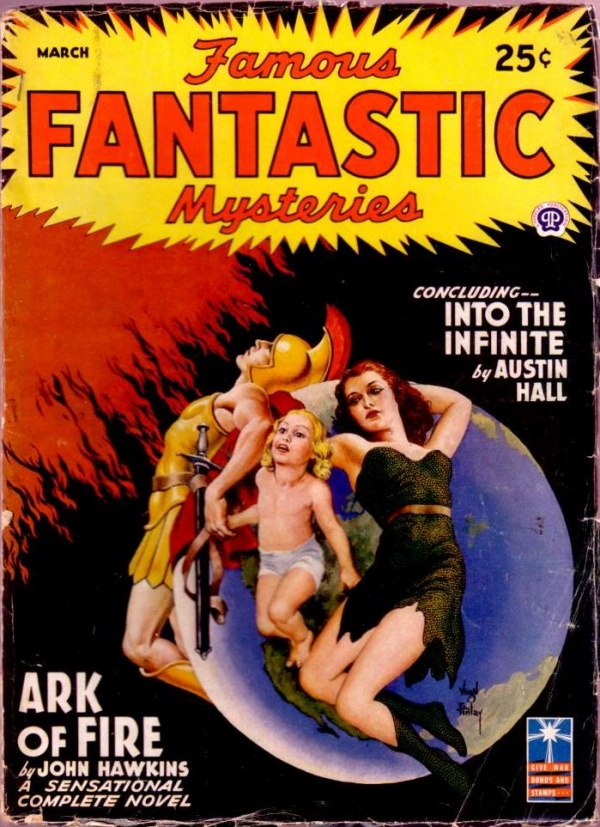 Fantastic Mysteries March 1943