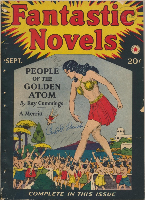 Fantastic Novels, September 1940