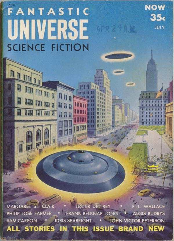 Fantastic Universe July 1954