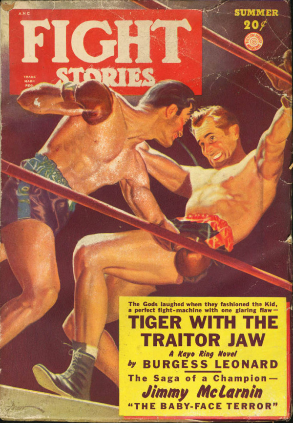 Fight Stories Summer 1949